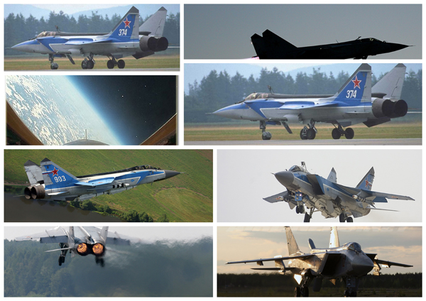 fly mig 31 jet fighter